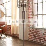 1024-7 rusted metal Industrial Cage Edison Bulb Rust Metal Floor Lamp as an authentic industrial accent                                                                         Quality Choice
