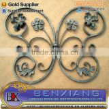 forged iron decoration fence designs gate decorative wrought iron components fence flower panels