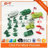 Plastic checap play set army soldier military toys set