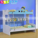 kids double deck bed durable and cheap 8204