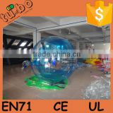 HOT sell custom 1.0mm PVC or TPU Inflatable Water walking Ball price / human sized hamster ball for water park