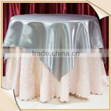 "120"" 132"" round wholesale party event handmade fancy wedding sequin fabric chevron tablecloths overlay"