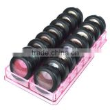Wholesale promotional good quality acrylic eye shadow display stand