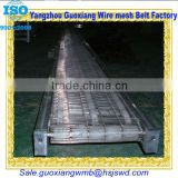 high quality chain link infeed conveyor belt or conveyer belt OEM china with wire mesh belt