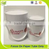 Cheap Beautiful Paper Flowers Packaging Tubes For Flowers