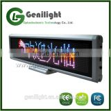 RGB Full Color Led Sign Scrolling Programmable Message Display Board for Business