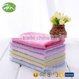 Baby soft fluffy skin care 100% organic face towel bamboo