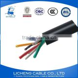 kvv 8*0.75mm2 instrument cable copper cable control cable pvc insulated and sheathed cable