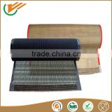 Free sample mesh size 4*4 mm Brown High Temperature Teflon Mesh conveyor Belt For Textile Printing
