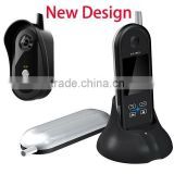 2.4G wireless digital video door bell&phone