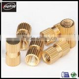 Hot Sale m4 Brass insert nut blind hole
