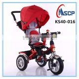 Metal bike wholesale sports safety three wheels children tricycle, baby tricycle, four and one type of bicycle