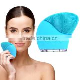 Sonic Facial Cleansing System Silicone Cleanser and Exfoliating Face Brush Massager