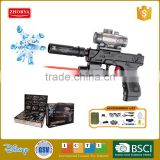 Zhorya battery operated glock g17 water bullet gun toys with Infrared laser sight