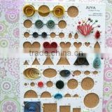 Quilling template board