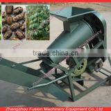 Low break rate Castor processing machine/castor skin peeler/castor bean cover removal machine