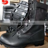 Factory cheap army leather tactical training boots