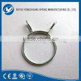 2016 65Mn spring steel europe Market Single wire spring clips/hose clamp for automotive parts in China
