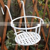 bold hanging basket indoor outdoor plant metal corner hanging flower pot stand