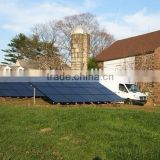 Home Use Solar System / Home Solar System / Solar Power System With DC Fans and LED Lights 500w