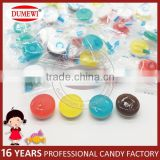 Colorful Fruit Crystal Hard Candy with Mint Tablet Candy