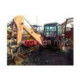 8000kg 0.8cbm Capacity Used Backhoe Loader / Second Hand Backhoe