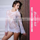 Hot Sexy Girls Beautiful Lace Babydoll Dress Ladies White Black Sleepwear