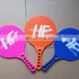 Plastic Beach Rackets Paddle Racket Beach Tennis Racket with Different Fluorescence Color