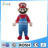popular video games inflatable super Mario costumes for advertising