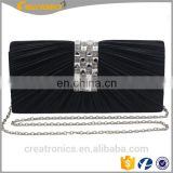Fashion Women Party Stone Clutch Bags Box Clutch Handmade Satin Rhinestones Evening Bag Crystal Acrylic Clutch Bag