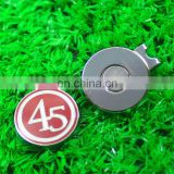 High quality wholesale golf ball marker with hat clip with personalized logo