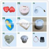 12 Khz Sampling Rate Voice Recording Heart Shaped Wedding Invitations