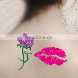 Fashion design adult body hand tattoo stickers