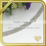 New fancy strass rhinestone chain applique woman rhinestone chain belt FC627
