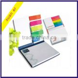 High quality fashion colorful unique adhesive paper sticky note made in china