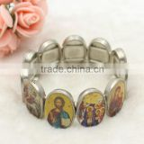Orthodox christian icon bracelet