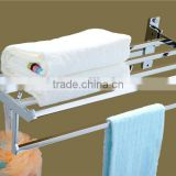 Wesda rotating stainless steel bathroom accessories towel rack A160