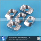 Jinli China Manufacturing Company Cheap Fasteners Nickel-Pated Carbon Steel Hammer Type T Nut 6-M5