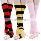 Dance Colorful Knitted Ballet Knee High Leg Warmers, Dance Socks Warm Ups (3518-000000)