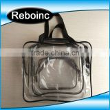 Beach Travel Shopping Waterproof transparent tote clear pvc bag(20151027A11)