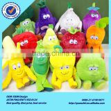 Fruits and vegetables fruits and vegetables plush toy doll garlic, peas. Sydney, cherry                                                                         Quality Choice