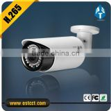 H.265 2.0MP ir bullet camera Super low-illumination p2p watherproof ip camera with metal housing support IP66 color camera