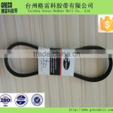 Ordinary high tenacity polyester cord wrapped v-belt