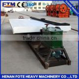 Top quality vibration shaker table for gold ore