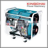 KINGCHAI Power Machinery open type 5kva diesel generator 3 phase digital display panel/ double meters 50hz                                                                         Quality Choice