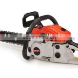 45CC green cutting gasoline chainsaw made in China