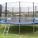 16FT kids outdoor big bungee trampoline with enclosures and Spring Cover Pads