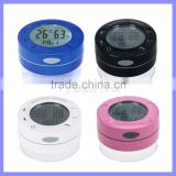 Waterproof Shower Bluetooth Speaker With LCD Screen Temperature Humidity Show