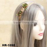 Vintage Handmade Fashion Handmade Hemp Rope Braided Women's Hair Band Elastic Headband