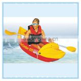 Inflatable canoe kayak with paddles for sale